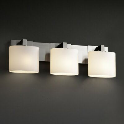 Justice Design Group Fusion Modular Three Light Bath Vanity