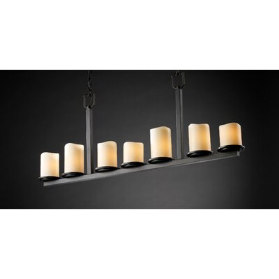 CandleAria Dakota 7 Light Chandelier
