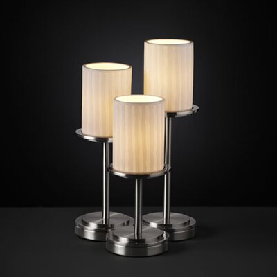 Justice Design Group Limoges Dakota 3 Light Portable Table Lamp (Set of 3)