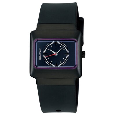 Issey Miyake Vakio Watch with Black Case and Plum Dial