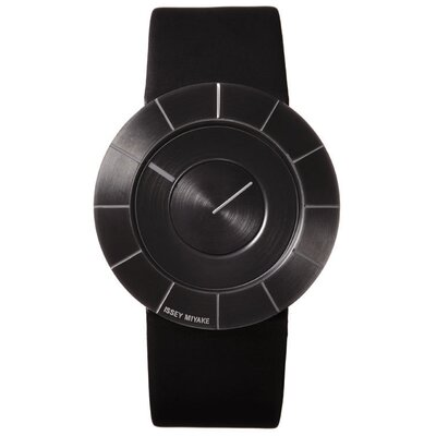 Issey Miyake To Men's Watch with Black Rubber Band and Black Case