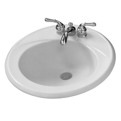Crane Faucet Round Galaxy/Cranada Drop In Bathroom Sink