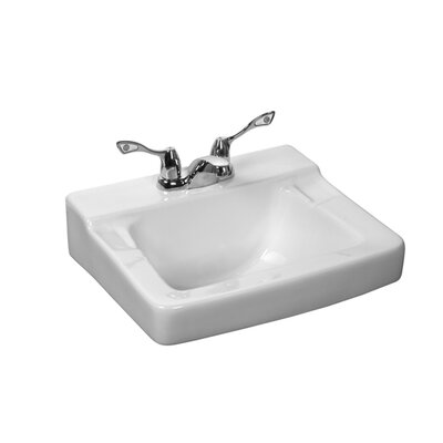 Westmont Wall Mounted Bathroom Sink - 1320V / 1320VNO / 1320VSR