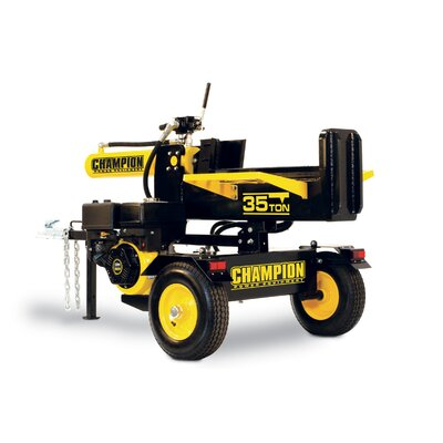Champion Power Equipment 35 Ton 338cc Log Splitter