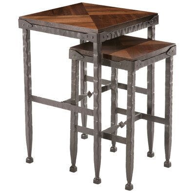 Stone County Ironworks Forest Hill 2 Piece Nesting Tables