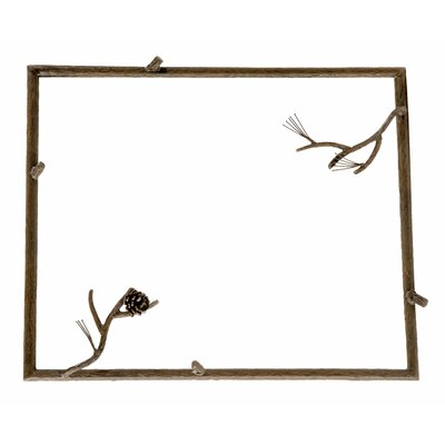 Pine Small Wall Mirror