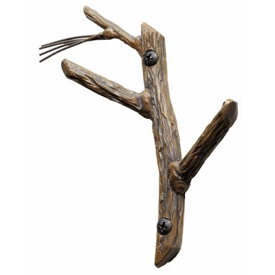Stone County Ironworks Double Coat Hook