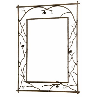 Stone County Ironworks Pine Branched Large Wall Mirror