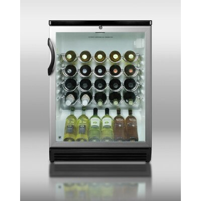 Summit Appliance 26 Bottle Single Zone Wine Refrigerator