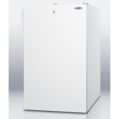 2.8 Cu.Ft. Compact All Freezer in White Cabinet