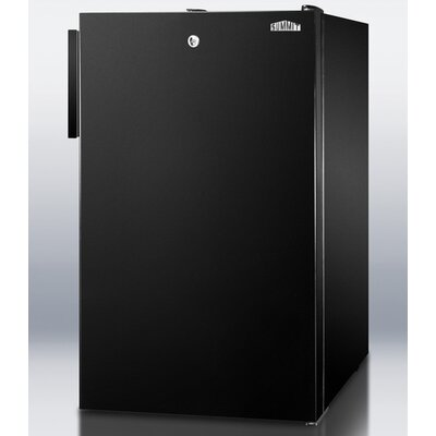 Summit Appliance 2.8 Cu.Ft. Compact All Freezer in Black Cabinet
