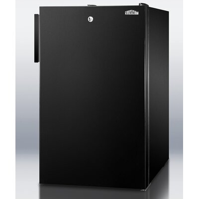 4.1 Cu.Ft. Compact All Refrigerator in Black Cabinet