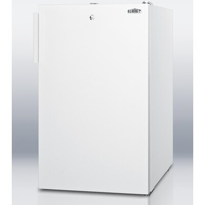 4.1 Cu.Ft. Compact All Refrigerator in White Cabinet