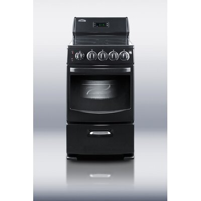 Deluxe 2.62 cu. Ft. Electric Free-Standing Range