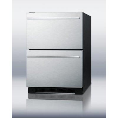 """Summit Appliance 24"""" Built-in Drawer Refrigerator"""