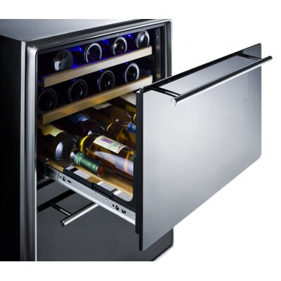 Summit Appliance Two-Drawer Dual Zone Wine Cellar