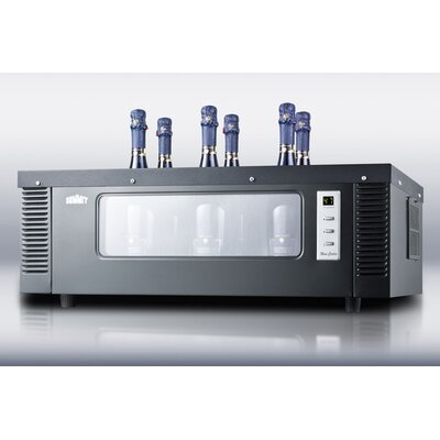 Summit Appliance 6 Bottle Single Zone Thermoelectric Wine Refrigerator