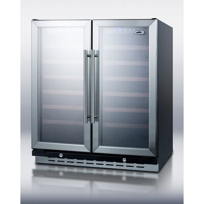 Built-In Undercounter Dual Zone Wine and Beverage Cooler