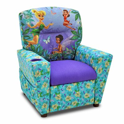 Kidz World Disney's Fairies Kid's Recliner
