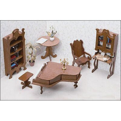 Greenleaf Dollhouses Library Furniture Kit