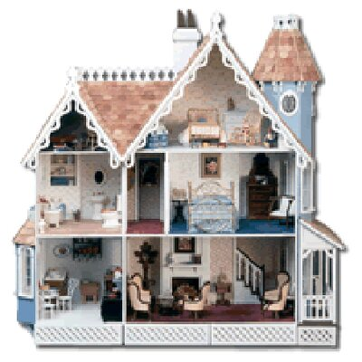 <strong>Greenleaf Dollhouses</strong> McKinley Dollhouse