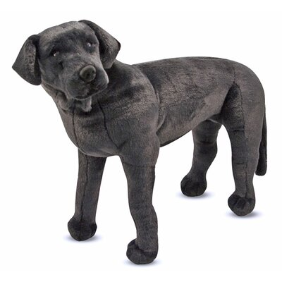Melissa and Doug Large Black Lab Plush Stuffed Animal