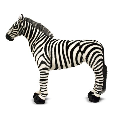 Melissa and Doug Zebra Plush Stuffed Animal