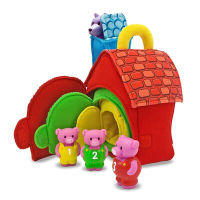 Melissa and Doug Three Little Pigs Fill and Spill