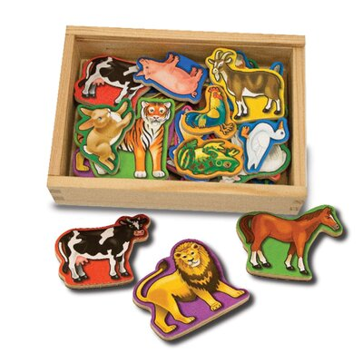 Melissa and Doug Magnetic Animals in a Box