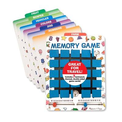 Melissa and Doug Travel Memory Game