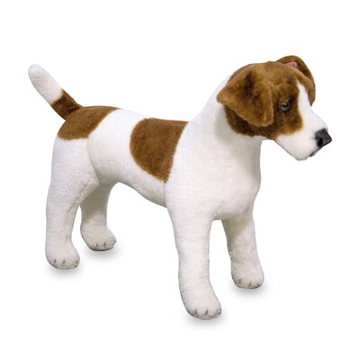 Melissa and Doug Plush Jack Russell Terrier Stuffed Dog