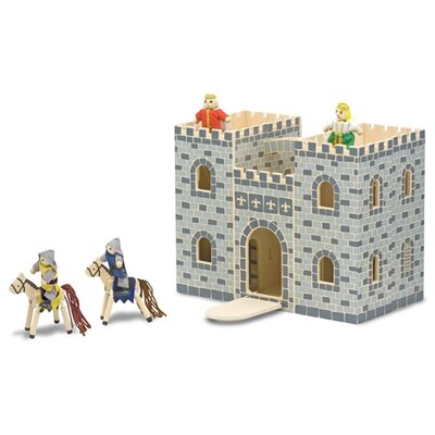 Melissa and Doug Fold and Go Mini Castle