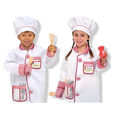 Melissa and Doug Chef Role Play Costume Set