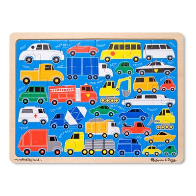 Melissa and Doug Beep Beep Jigsaw Puzzle
