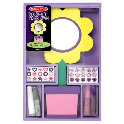 Melissa and Doug Flower Mirror DYO