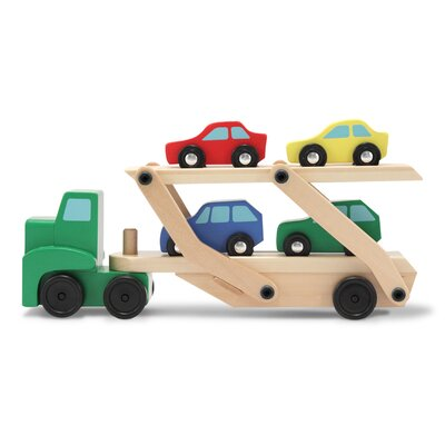Melissa and Doug Carrier Truck Vehicle Set