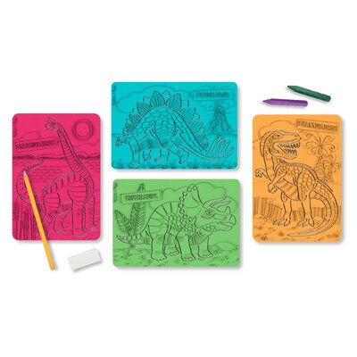 Melissa and Doug Textured Stencils Dinosaurs