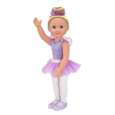 "Melissa and Doug Alexa 14"" Ballerina Doll"