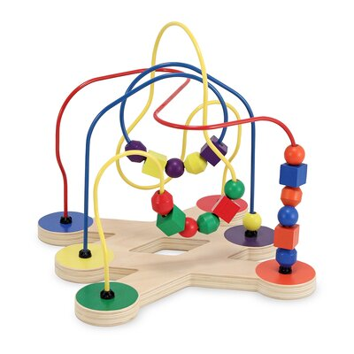 Melissa and Doug Classic Toy Bead Maze