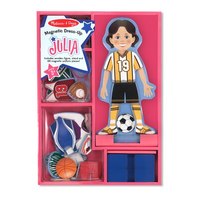 Melissa and Doug Magnetic Pretend Play Julia Doll