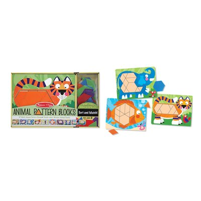 Melissa and Doug Animal Pattern Blocks