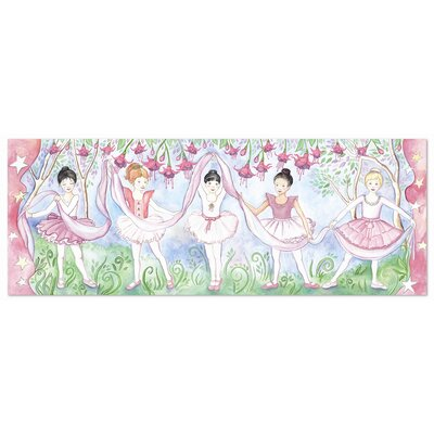 Melissa and Doug Bella Ballerina 48 Piece Floor Puzzle Set