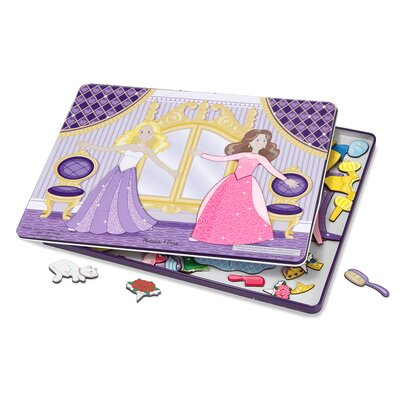 Dance All Night Magnetic Tin Dress-Up Set