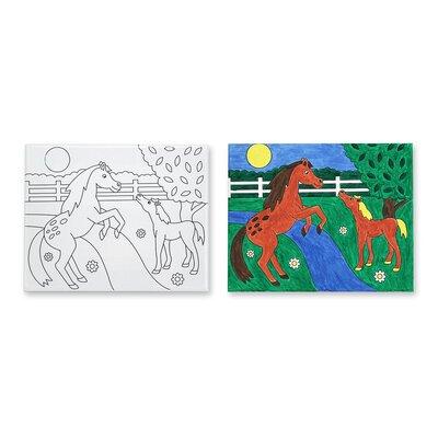 Melissa and Doug Horses Canvas Creations
