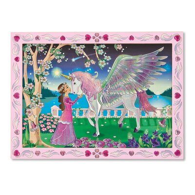 Melissa and Doug Mystical Unicorn Peel and Press Sticker by Number