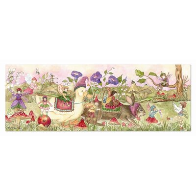 Melissa and Doug Fairy Parade 48 Piece Floor Puzzle Set