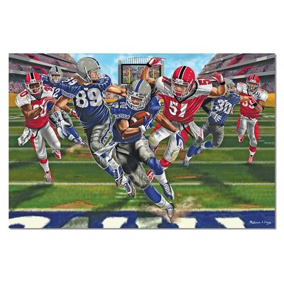 Melissa and Doug Touchdown! 48 Piece Floor Puzzle Set