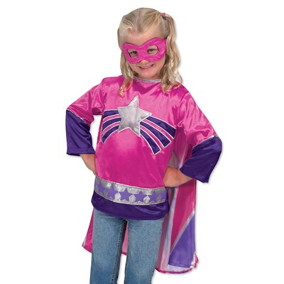 Melissa and Doug Super Heroine Role Play Set