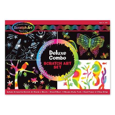 Melissa and Doug Deluxe Combo Scratch Art Set