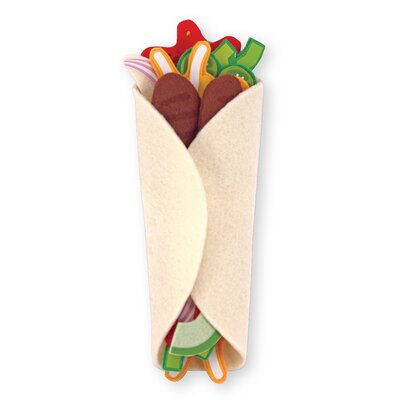 Melissa and Doug Felt Food Taco and Burrito Set